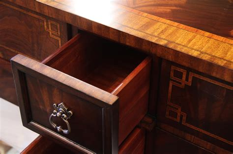 High End Dining Room Buffet Mahogany Dining Room Sideboard With Antiqued Brass Accents