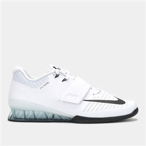 nike lifting shoes shop white nike romaleos 3 weightlifting shoe for mens by