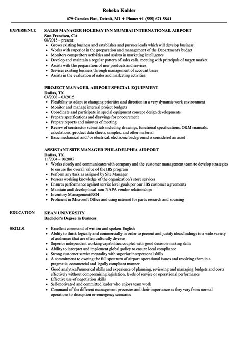 Resume For Airport Jobs by College Bookstore Manager Sample Resume Training Workbook
