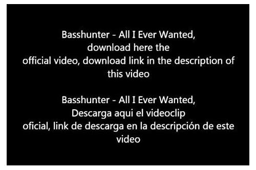 basshunter all i ever wanted 320kbps download