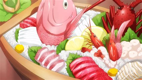 Anime Food by Sword Itadakimasu Anime