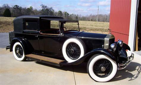 1930 rolls royce classic cars