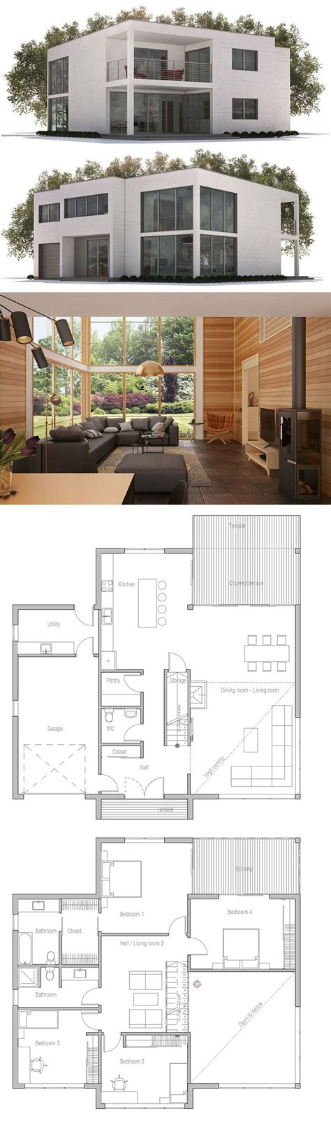 modern family house design best 25 modern house plans ideas on pinterest modern