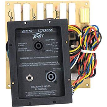 Cabinet Ecs by Peavey Ecs 1000x Cabinet Speaker Crossover 1000 Hz 03490190