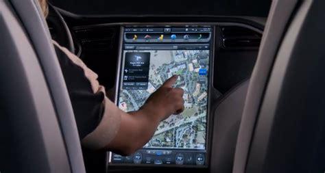 Tesla Navigation Tesla Electric Cars The Coolest Touchscreens Expat
