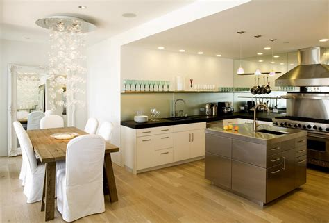 open kitchen design for spacious cooking space concept