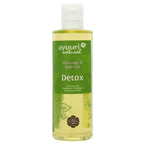 Detox Bath Oils by Ayumi Detox Bath Oils