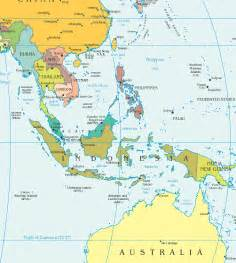 Map Se Asia by Southeast Asia Detailed Political Map Detailed Political