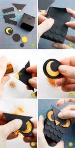 paper crafts for halloween free printable mini owl treat