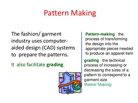 pattern making department in garment industry fin technology in apparel manufacturing