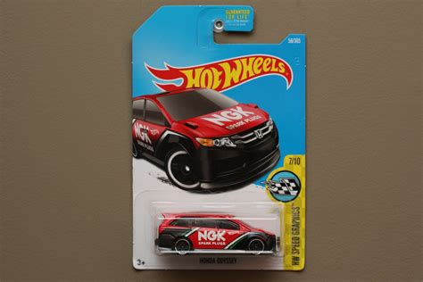 matchbox honda odyssey wheels 2017 hw speed graphics honda odyssey red black