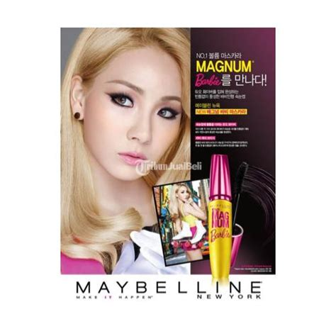 Mascara Maybelline Ori make up mascara magnum maybelline ori murah doll it up bandung dijual tribun jualbeli