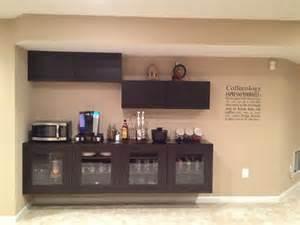 ikea bar coffee bar using ikea besta cabinets basement pinterest cabinets bar and ikea cabinets