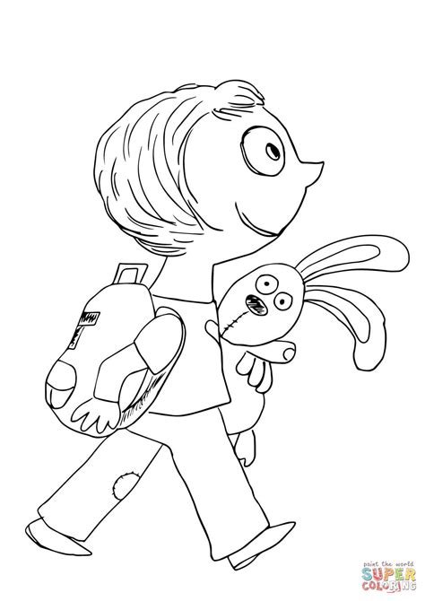 coloring pages for knuffle bunny knuffle coloring page free printable coloring pages