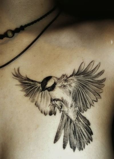 black birds tattoo shoulder black white bird animal tattoos best tats