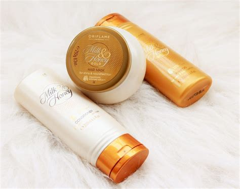 Milk Honey Gold Hair Mask Masker Rambut oriflame milk honey gold collection review