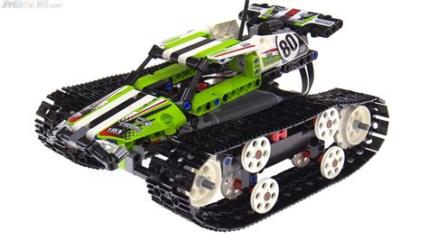 lego rc boat instructions lego technic rc tracked racer review 42065