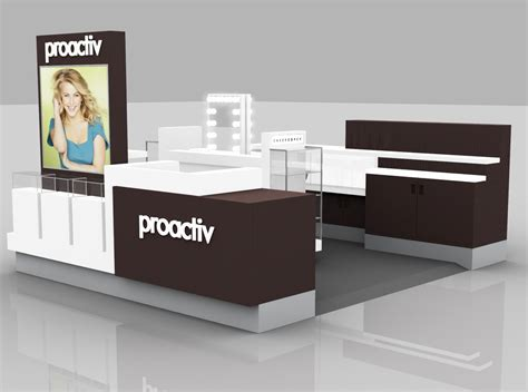 design layout kiosk proactiv kiosk standard layout make up counter k z