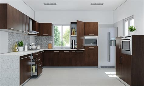 L Shape by L Shaped Kitchen Manufacturers Engineerply