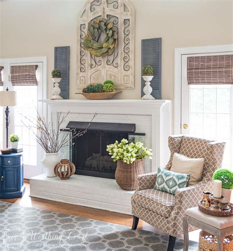 My spring fireplace mantel and hearth worthing court