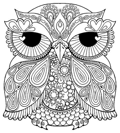 printable owl mandala owl mandala coloring pages gallery free coloring books