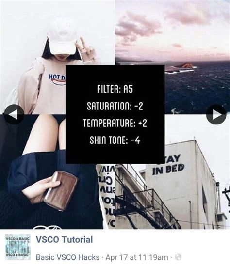 tutorial edit pake vsco 554 best instagram filters vsco snapseed images on