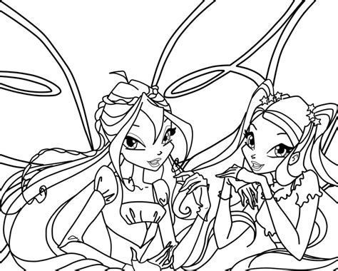 Winx Club Coloring Pages Enchantix Az Coloring Pages Winx Club Coloring Page