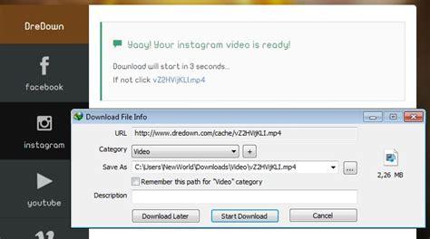 cara posting video youtube di instagram cara download video di instagram mudah upsgadget upsgadget
