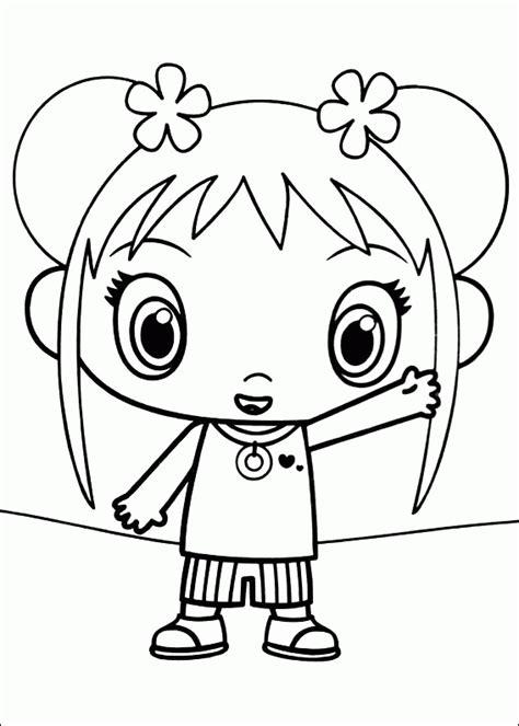 ni hao kai lan coloring pages coloringpagesabc com