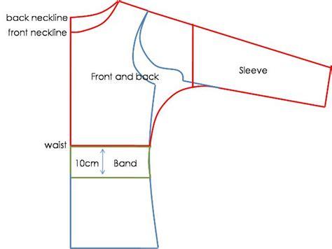 shirt pattern drafting website dolman pattern 1 tops pinterest