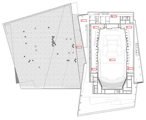 concert hall floor plan harpa concert hall metalocus