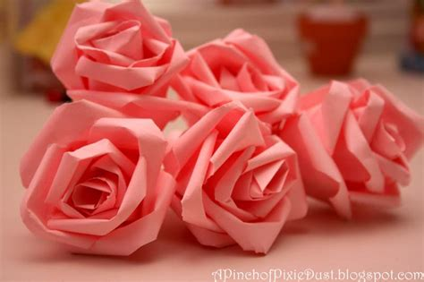 Make Paper Roses - how to diy easy paper roses www fabartdiy
