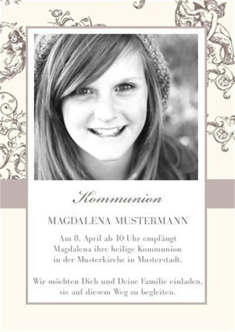 Hochzeitseinladung Jugendstil by Einladungskarte Kommunion Jugendstil