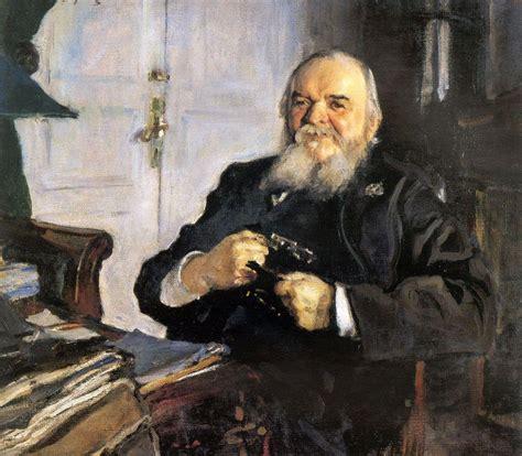 serov valentin portrait of turchaninov 1906 valentin serov