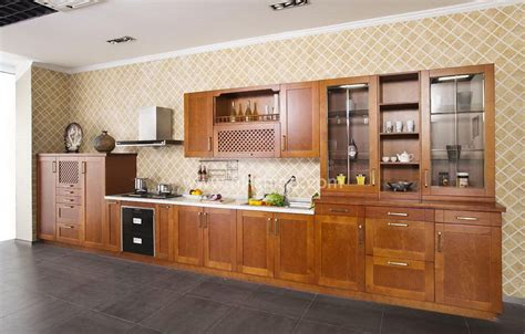 solid wood cabinets factory direct european standard factory direct cherry solid wood kitchen