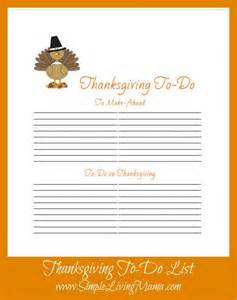 Thanksgiving menu planner and to do list have a happy thanksgiving
