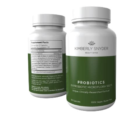 9 Probiotic Picks From A Detox Expert by S Picks 171 Snyder