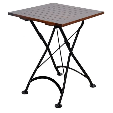 24 inch folding table 24 inch square european folding chestnut wood table