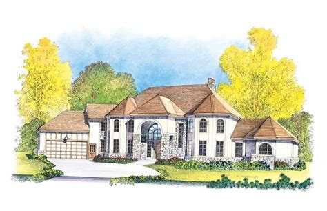 my dream home com new american house plan with 4689 square feet and 5