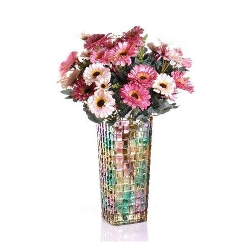 floreros y jarrones de vidrio floreros grandes de vidrio floreros o lapiceros macetas