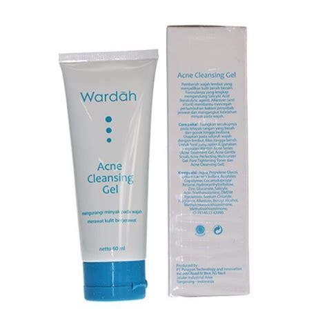 Pembersih Muka Verile wardah acne cleansing gel 60ml medanmart