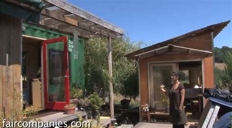 diy single builds shipping container tiny home for