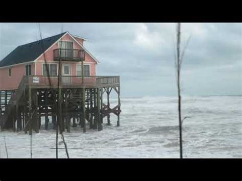 winter storm riley pounds outer banks youtube