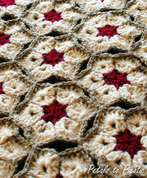 crochet pattern flower afghan african flower afghan free crochet pattern