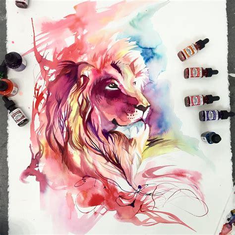lion splash by lucky978 on deviantart
