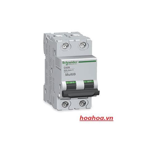 Mcb 1p 2a Ic60n sản phẩm thay thế mcb
