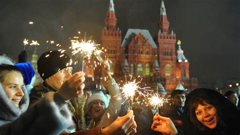 new year celebration in russia ny celebrations in russia