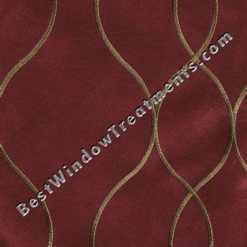 modern ripple fold drapes with a classic twist home office miami by maria j window red curtains in merlot with gold embroidery classic with a modern twist pasha curtain panels