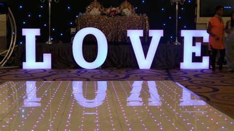 Wedding Love Letter Hire Illuminated Letter Hire London Surrey MAGIC EVENT
