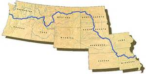 Lewis And Clark Route Map by Explore The Lewis Amp Clark Trail